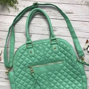 Steve Madden Mint Green Messenger Handbag